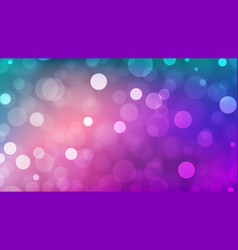 Abstract bokeh background multicolor defocused vector