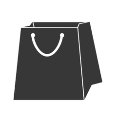 bag shop purchase icon graphic vector image