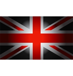 Black Flag British vector image