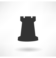 Chess Rook Icon vector