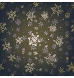 Christmas snowflake seamless pattern EPS 10 vector