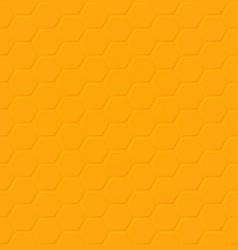 eps honey hexagon seamless pattern design vector image
