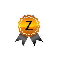Logo quality letter z vector