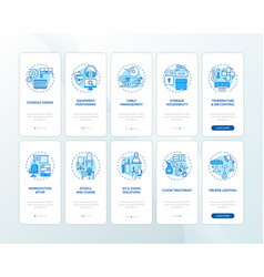Safe healthful workplace for workers onboarding vector