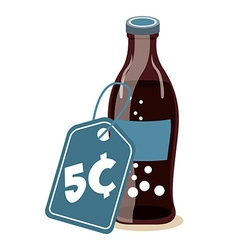 Soda drink design vector