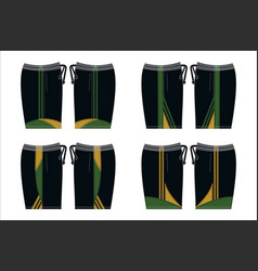 Template design shorts vector