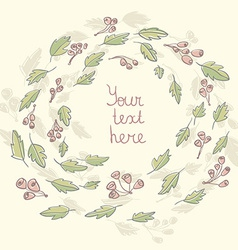textinleaves vector image