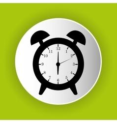 clock icon symbol design vector image