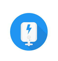 Electric system icon vector