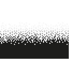 Pixel grey gradient seamless pattern vector