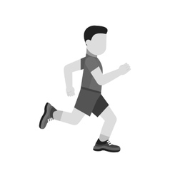 Running Person vector image