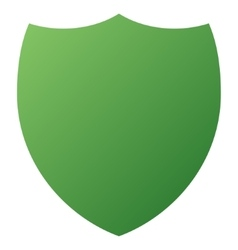 Shield Gradient Icon vector image