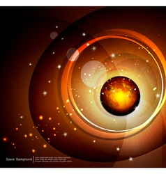 abstract space and future vector image vector image