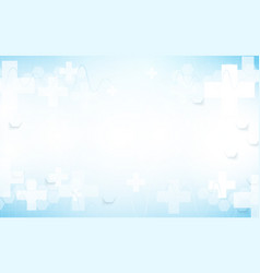 abstract tmedicine and science background vector image