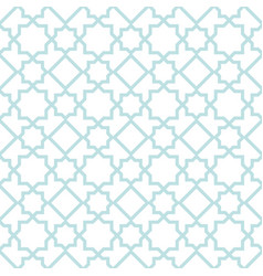 Arabian geometric star seamless pattern background vector