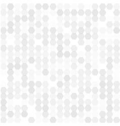 background abstract hexagones vector image