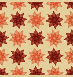 carpet with flowers vector image