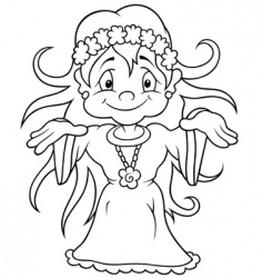 fairy vector image vector image
