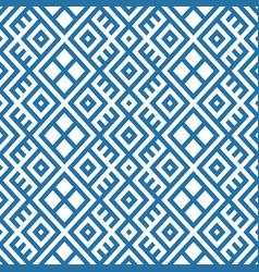 Geometric seamless ethnic pattern background vector