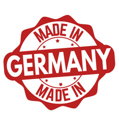 made in germany sign or stamp vector image