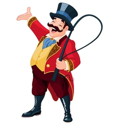 Ringmaster vector image