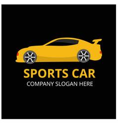 sport car icon vector image
