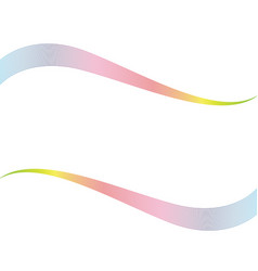 wave line abstrack background vector image