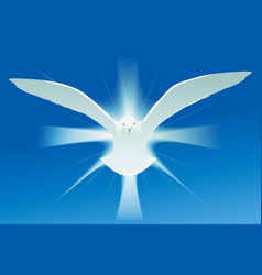 Holy spirit symbol vector