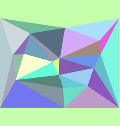 Iridescent geometric background vector