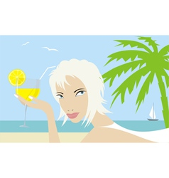 Beach001 vector image