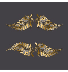 Art Nouveau style decor element vector image
