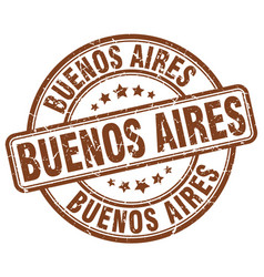 Buenos aires stamp vector