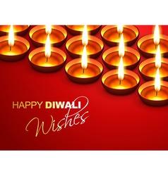Diwali wishes vector