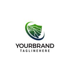 document logo design concept template vector image