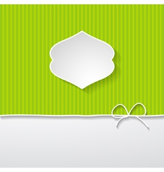 green background with a space for a text vector image