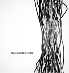 Absract black background with vertical lines vector image vector image