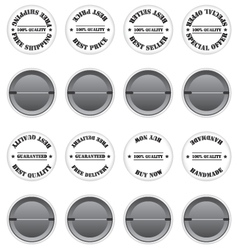 Badges sale label vector image vector image