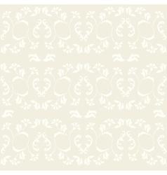 vintage ornate seamless pattern vector image vector image