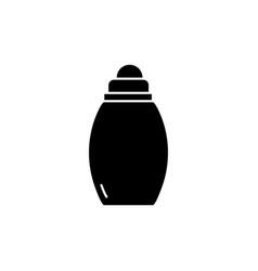 Babottle black glyph icon vector