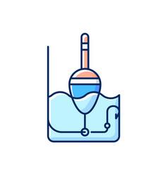 Float rgb color icon vector