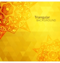 Gold business background vector