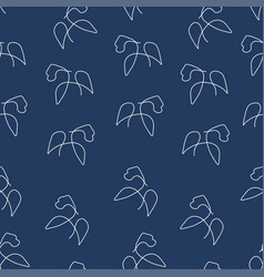 gorilla pattern seamless color vector image