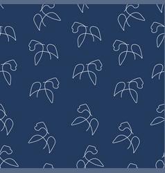 Gorilla pattern seamless color vector