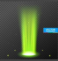 Hologram portal magic podium effect circle light vector