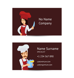 Professional kitchen staff recruitment concept vector