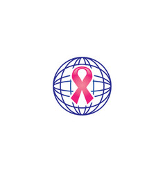 Cancer logo vector