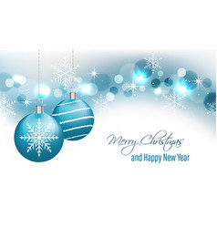 Christmas greeting card and new year wishes vector