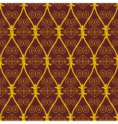 Golden oriental vector