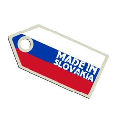Made in Slovakia vector image