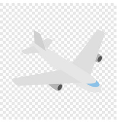 plane isometric icon vector image